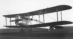 8th Special Operations Squadron - An 8th Surveillance Squadron Dayton-Wright DH-4. The DH-4 was the mainstay of the Army Air Service throughout the 1920s.