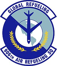906th Air Refueling Sq Patch