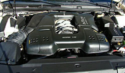 Ford modular engine wikipedia 46 l 4 valve dohc intech v8 installed in a 1996 lincoln mark viii sciox Gallery