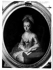 Anna Maria Boreel (1739-1781). Echtgenote van François Fagel