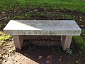 A. M. Turing bench, Carnegie Mellon University, Pittsburgh PA, USA.jpg