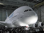 Airbus A380 roll-out, Ocak 2005