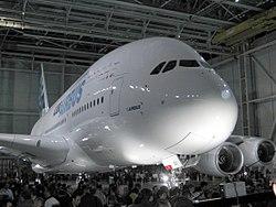 En Airbus A320 från flygbolaget VBird.
