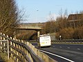 A40 and Abergwili Road overpass - geograph.org.uk - 1711745.jpg