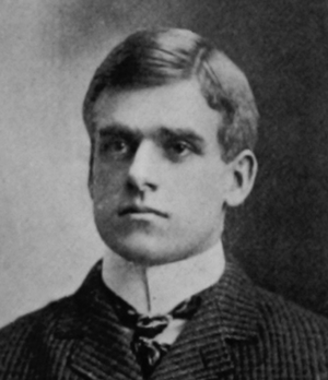 A. B. Morrison Jr. - Morrison pictured in the 1901 Class Book, Cornell University
