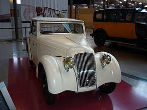 MNACTEC - AFA 1943 car, the only AFA car that remains, exhibited at mNACTEC