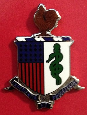 Army Medical Department regimental coat of arms