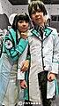 AMG14 cosplayers of Miyuki Shiba & Tatsuya Shiba from The Irregular at Magic High School 20140809.jpg