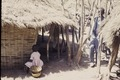 ASC Leiden - Coutinho Collection - doos-1 11 - Trip to Senegalese border from Candjambary, Guinea-Bissau - Hut in village - 1974.tif