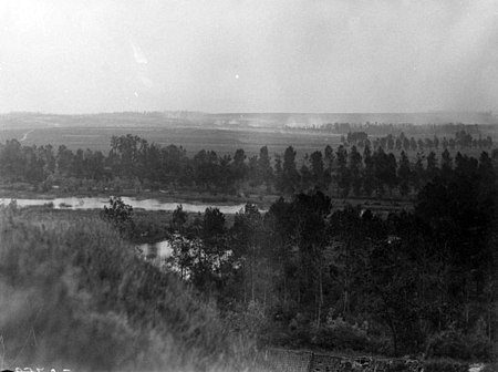 AWM E02635 Hamel and surrounds 4 July 1918