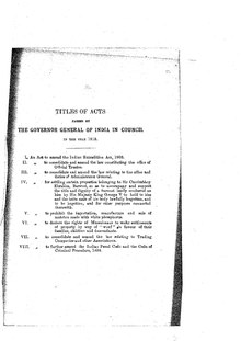 A Collection of the Acts passed by the Governor General of India in Council, 1913.pdf