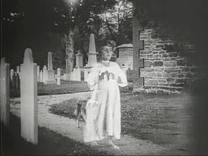 A Dog's Love - Shep the Dog following the ghost of the girl through the graveyard