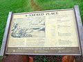 A Sacred Place, Sign at Puʻu o Mahuka Heiau State Monument (8583233021).jpg