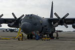 A U.S. Air Force AC-130U Spooky aircraft prepares for departure at Hurlburt Field, Fla., Oct. 3, 2013 131003-F-RS318-227.jpg