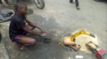 A boy of 14 years old exhibiting raw talent by the roadside in Port Harcourt City.png