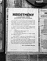 A nemtényleges katonák jelentkezési kötelezettsége, 1944 Budapest Fortepan 72700.jpg