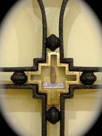 Alexander Sauli - A piece of the cross of St Alexander