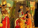 A scene krishna,dhuryodhana and arjuna..JPG