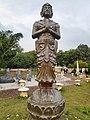 A statue in chandigarh Japanese Garden.jpg