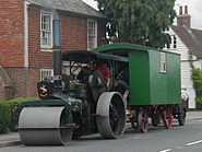 A steam roller at Rolvenden - geograph.org.uk - 85426