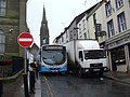 A tight squeeze, Omagh - geograph.org.uk - 1663662.jpg