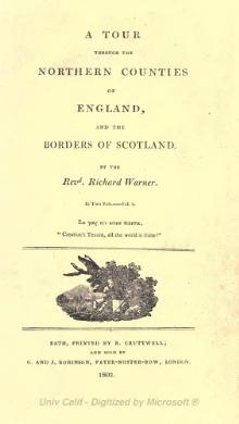 A tour through the northern counties of England, and the borders of Scotland - Volume I.djvu