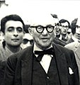 Abbas Gharib and Le Corbusier, April 1965.jpg