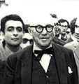 Abbas Gharib and Le Corbusier, April 1965.jpg