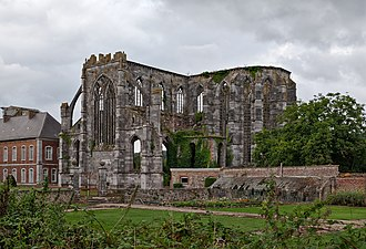 Aulne Abbey - Ruins of the Abbey church