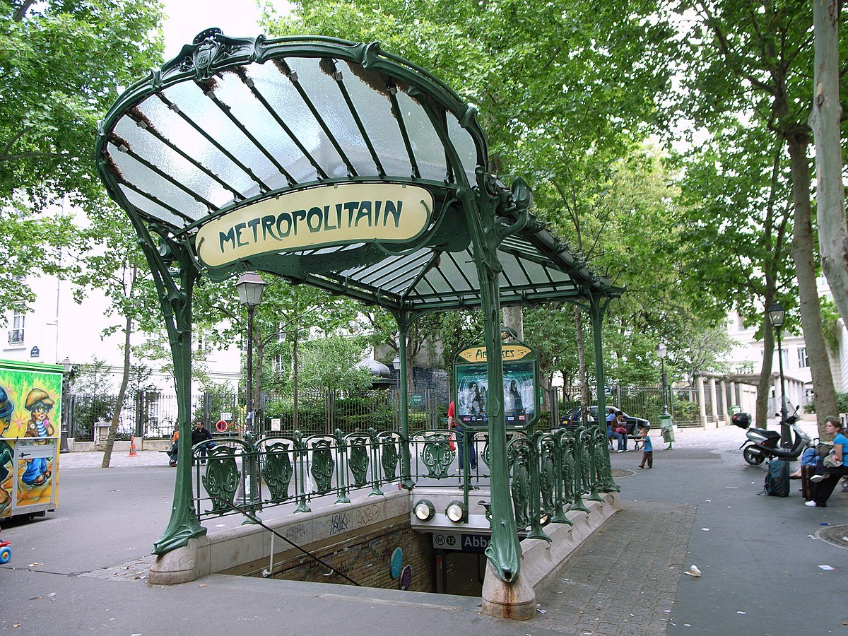 Image result for paris metro sign art nouveau