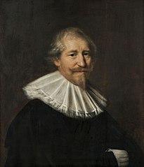 Portret van een onbekende man, mogelijk de koopman Adriaen van der Tock (1584/85-1661)