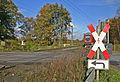 Abzweigstelle Marl Lippe 04 Bahnübergang.JPG