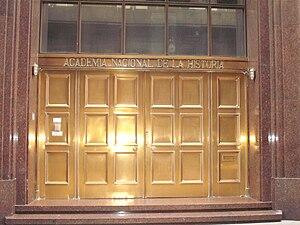 National Academy of History of Argentina - Entrance on Balcarce Street