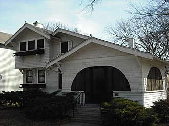 National Register of Historic Places listings in Douglas County, Kansas - Image: Achning House