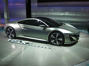 Honda NSX (second generation) - Acura NSX Concept at the 2012 North American International Auto Show