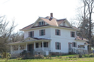 National Register of Historic Places listings in Benton County, Arkansas - Image: Adar House