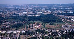 Aerial view Tualatin Hills Nature Park 1998.jpg