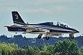 Aermacchi MB-339 Pattuglia Acrobatica Nazionale (PAN) Frecce Tricolori.jpeg