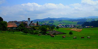 Affoltern im Emmental - Countryside near Affoltern