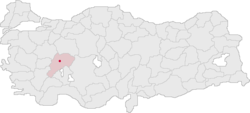 Afyonkarahisar Turkey Provinces locator.png