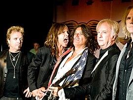 v.  l.  No.  Joey Kramer, Steven Tyler, Joe Perry, Brad Whitford, Tom Hamilton (2008)