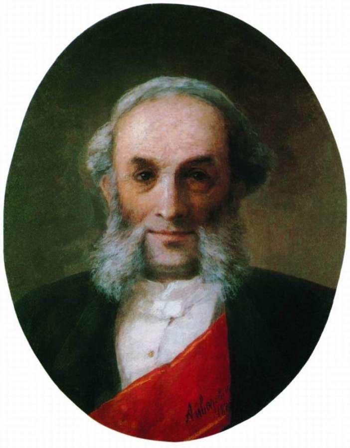 Aivazovsky - Self-portrait 1881