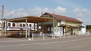 Ajigaura Station Railway station in Hitachinaka, Ibaraki Prefecture, Japan