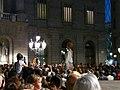 Ajuntament - Arribada de la xambanga de gegants P1160564.JPG