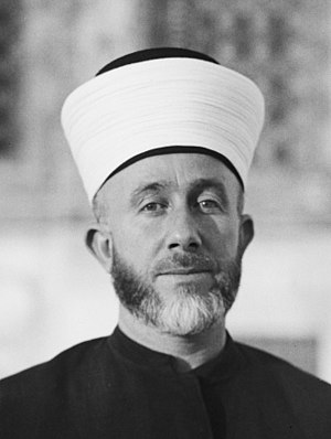 Free Arabian Legion - Amin al-Husseini, The co-creator of the Free Arabian Legion.