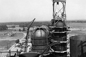 P-9 Project - Heavy water production plant at Sylacauga, Alabama