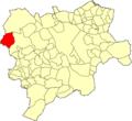 Albacete Ossa de Montiel Mapa municipal.png