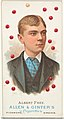 Albert Frey, Pool Player, from World's Champions, Series 1 (N28) for Allen & Ginter Cigarettes MET DP827422.jpg