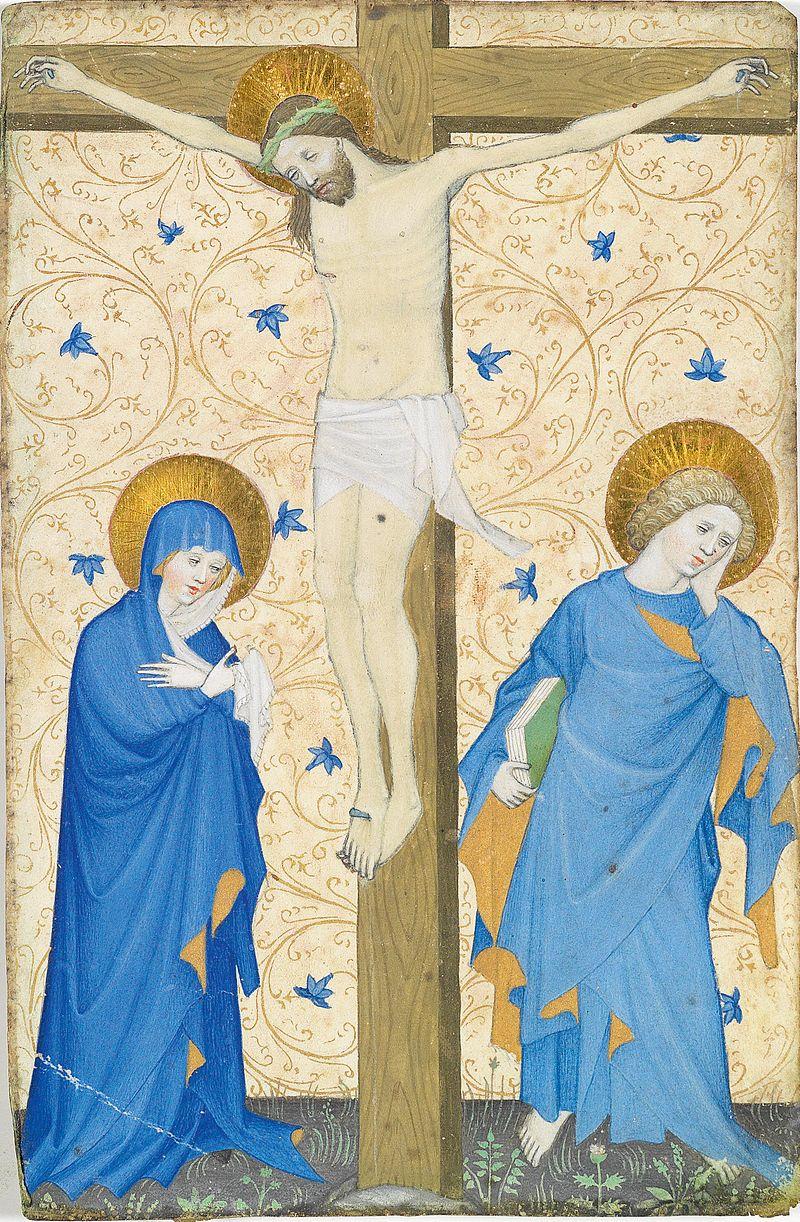 Albrechtsminiator Wien um 1435 Kreuzigung.jpg