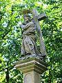 Alej poutní, včetně staveb a soch (Svatý Kopeček), sloup 4 socha.JPG